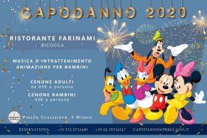 Capodanno per bambini Farinami Milano